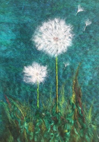 Dandelion Head by UshmaS - Use the 'Create Similar' button to commission an artist to create your own artwork.
