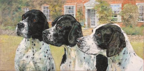 Artwork German Short Haired Pointers