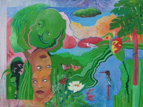 Artwork Pool of desire