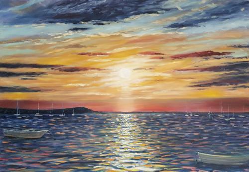 Artwork Poole Sunset