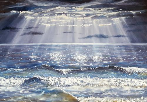 Artwork Light Over The Sea