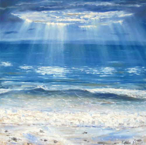 Artwork Light over the water