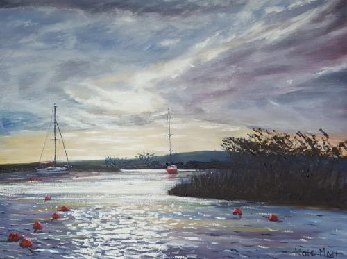 Artwork Storm at Christchurch Quay