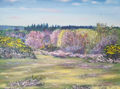 Artwork Spring In The New Forest