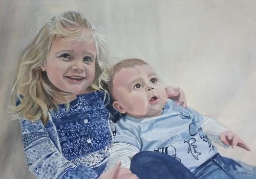 Artwork Dana and Leo