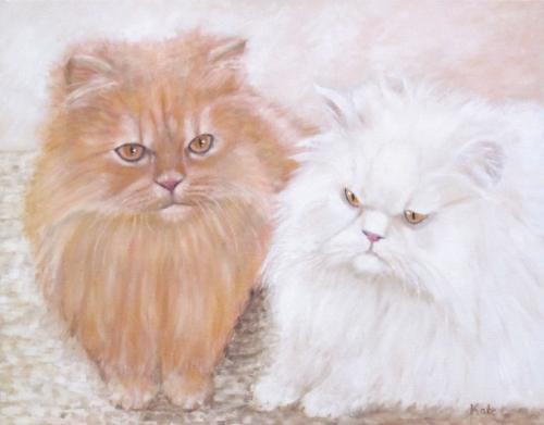 Artwork Suki and Oscar