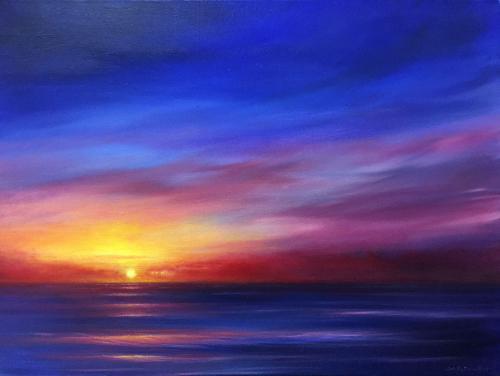 Artwork Blue Reverie VII