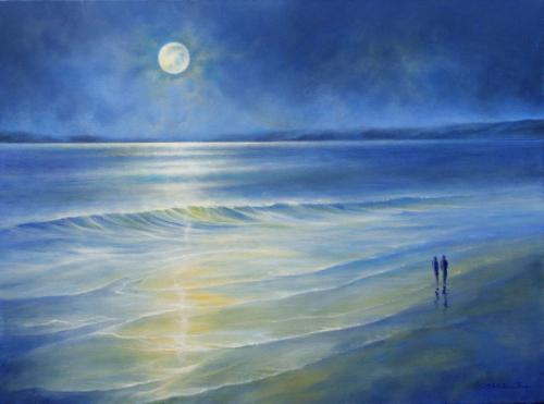 Artwork Beautiful Moonlight