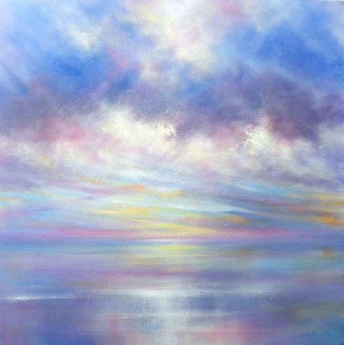 Sunrise Reflections by Stella - Use the 'Create Similar' button to commission an artist to create your own artwork.
