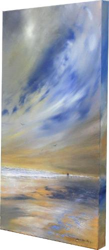 Coastal Walk by Stella - Use the 'Create Similar' button to commission an artist to create your own artwork.