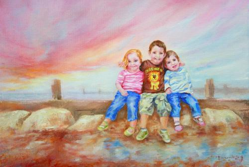 St Mary's Angels by Stella - Use the 'Create Similar' button to commission an artist to create your own artwork.