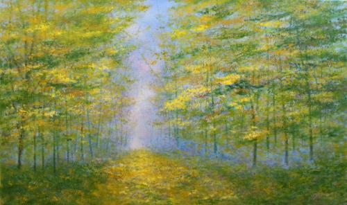 Artwork Through The Trees