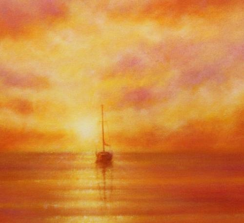 Sunset Repose by Stella - Use the 'Create Similar' button to commission an artist to create your own artwork.