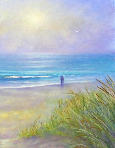 To The Sea by Stella - Use the 'Create Similar' button to commission an artist to create your own artwork.