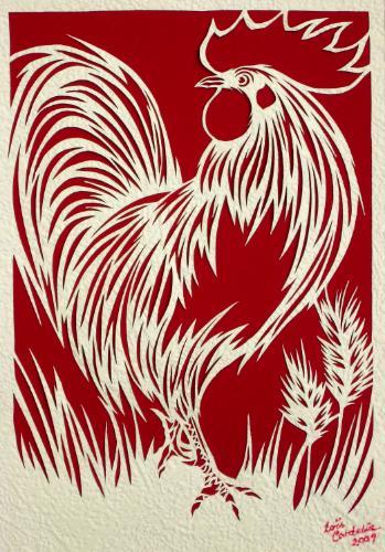 Artwork Chanticleer (Rooster)