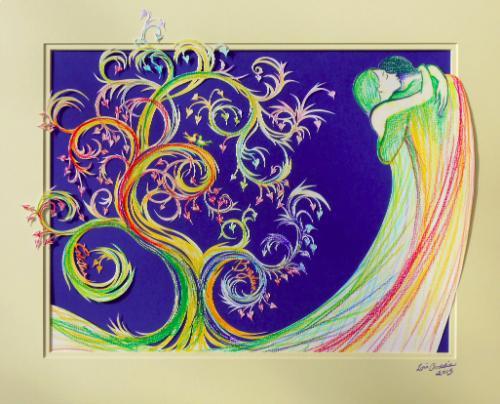Artwork Tree of Life (Personalised Wedding Gift)