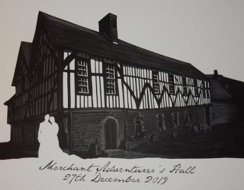 Artwork Paper (First) Wedding Anniversary Paper-cut