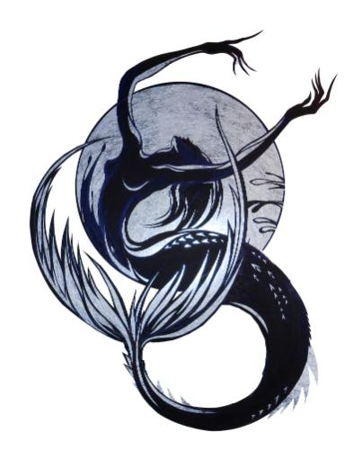 Artwork Mermaid and the Moon