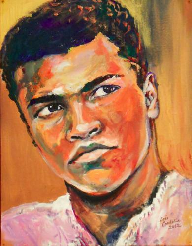 Artwork Cassius Clay (Muhammad Ali)