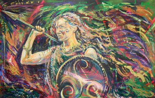 Artwork Warrior Queen