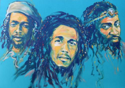 Artwork Three Legends of Reggae: The Wailers Trio