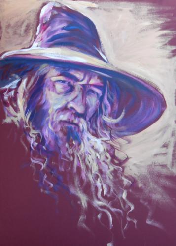 Artwork Gandalf (50 minute speedpainting)