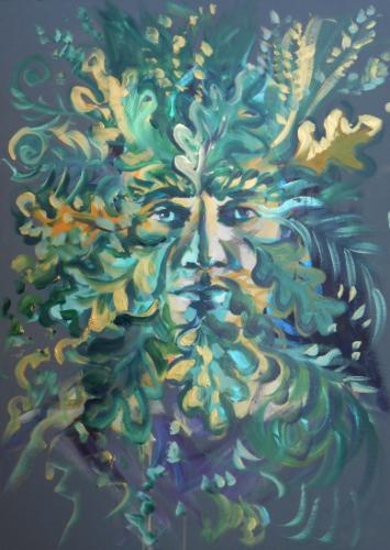 Artwork Green Man