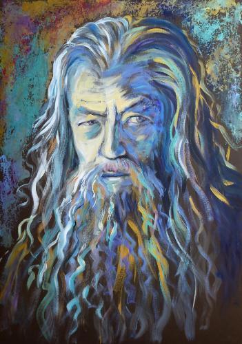 Artwork Gandalf the Gold