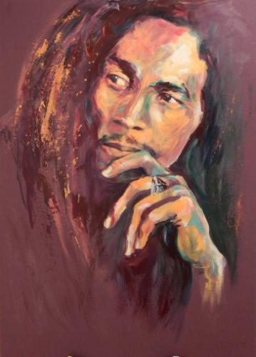 Artwork Bob Marley - Legend (90 min speedportrait)