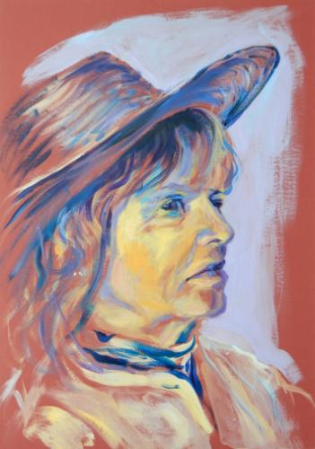 Artwork Rosanna (portrait from life, 1 hour)