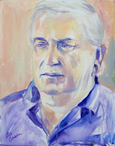 Artwork Trevor (portrait from life, 1 hour)