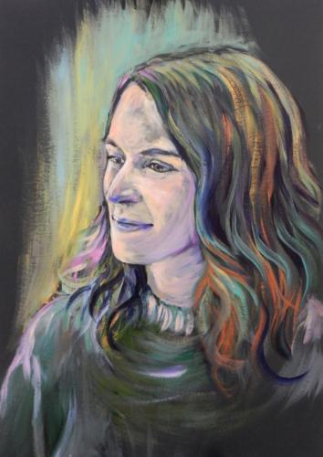 Artwork Em (portrait from life, 1 hour)