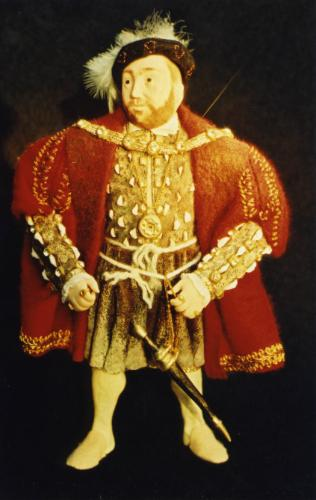 Artwork Henry VIII Miniature Figurine