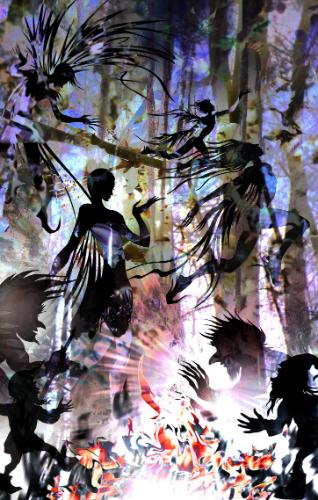 Artwork Midsummer's Eve (Forest Magic)