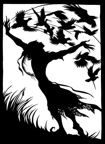 BirdBook III cover by Lois - Use the 'Create Similar' button to commission an artist to create your own artwork.