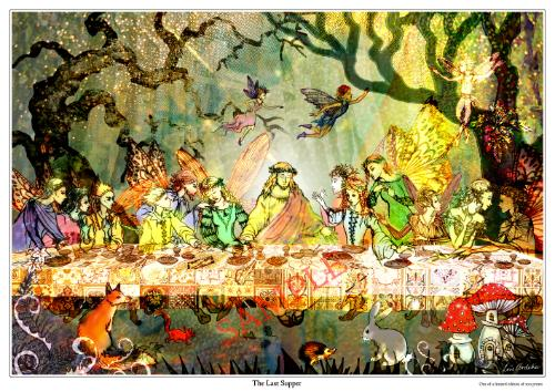 Artwork Faerie Last Supper