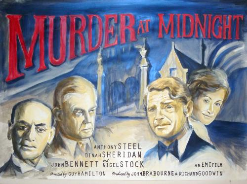 Artwork Murder at Midnight Poster