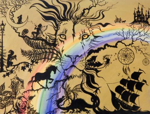 Artwork Aslan King of Fairytale