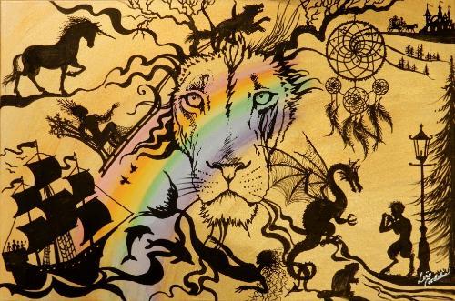Artwork Aslan King of Fairytale (Narnia)