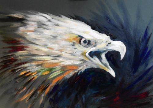 Artwork Bald Eagle