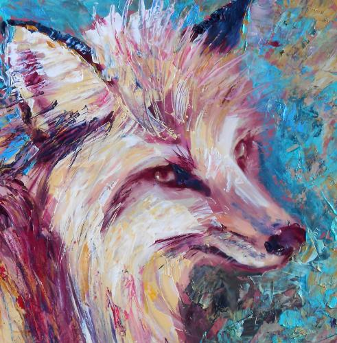Fox by Lois - Use the 'Create Similar' button to commission an artist to create your own artwork.