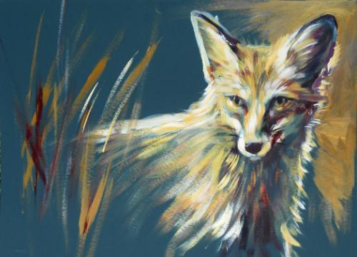 Artwork Inquisitive Fox