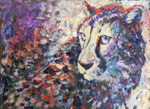Artwork Cheetah (50 minute speed-painting)