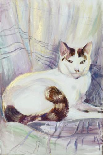 Artwork Cat Portrait