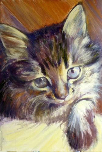 Artwork Trixie: Cat Portrait Commission