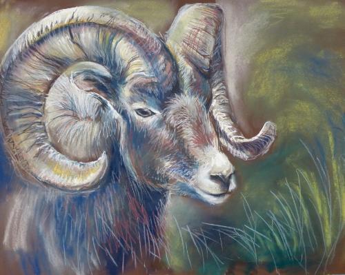 Artwork Ram (mixed media)