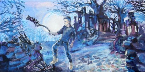 Artwork Bloodborne Hunter Personalised Gift