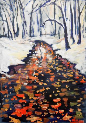 Artwork Winter River
