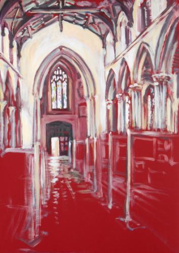 Artwork St Peter's Church, Sudbury, Suffolk