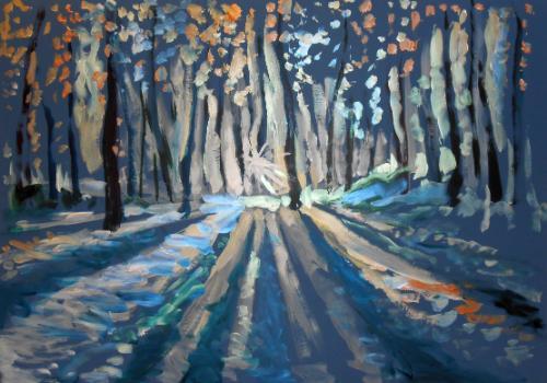 Artwork Winter Solstice Landscape
